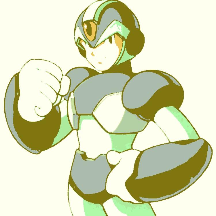 Megaman X pop art 5 by DevintheCool