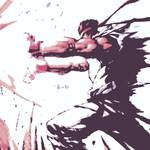 Street Fighter pop art Ryu 3