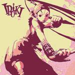 Street Fighter pop art Ibuki 4
