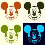 Disney pop art Mickey Mouse