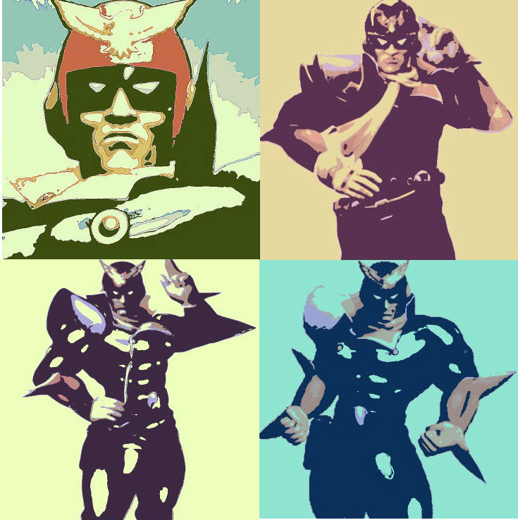 F-Zero Captain Falcon pop art  F Zero Captain Falcon