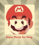 Super Mario Retro Poster pop art