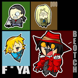 Hellsing Group by tachiik