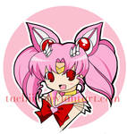 Sailor ChibiMoon Button