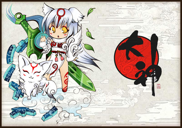 Chibi amaterasu Okami by tachiik on DeviantArt