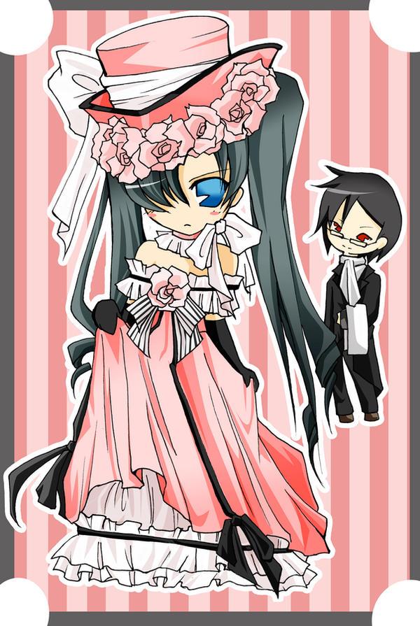 Black butler pink ciel by tachiik