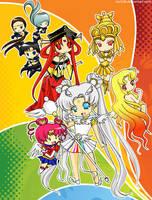Sailor Stars Cast by tachiik