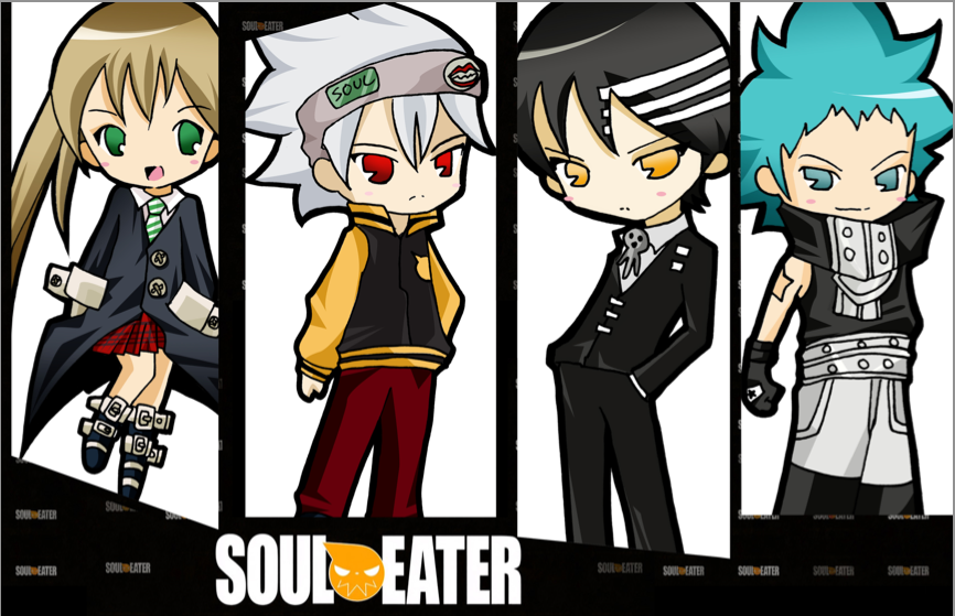 Soul Eater Chibis by tachiik on DeviantArt
