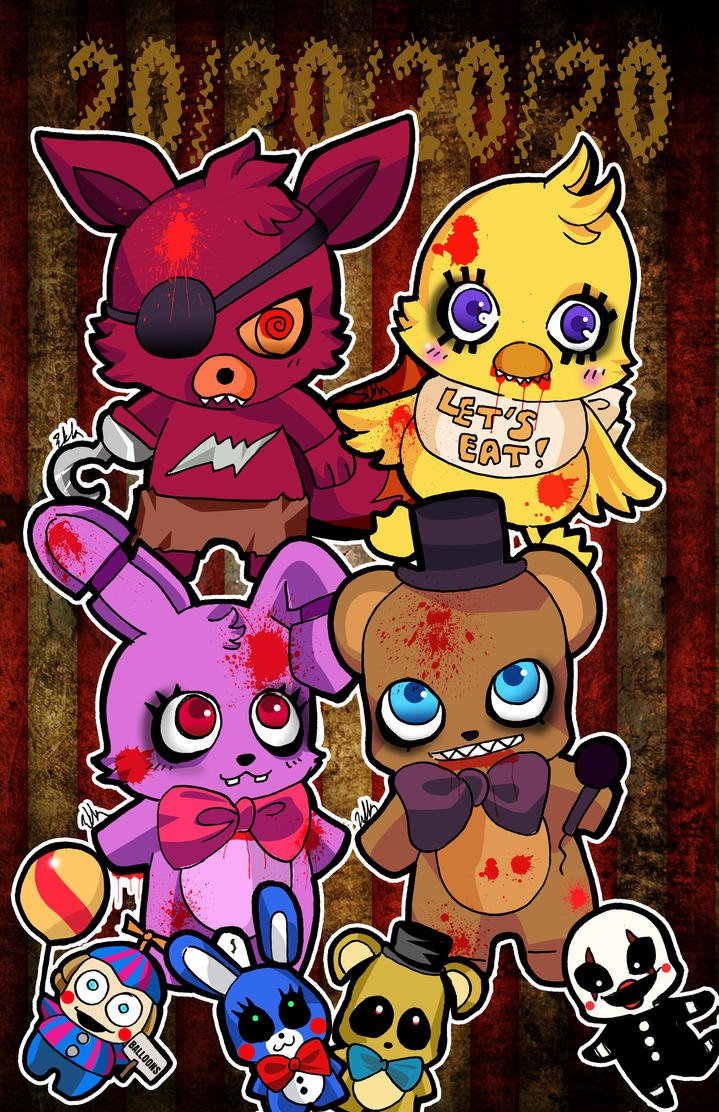 Five nights at Freddy by tachiik