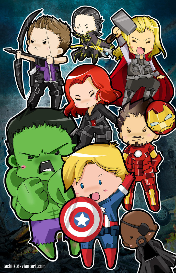 Avenger SUPER PHAT! by tachiik