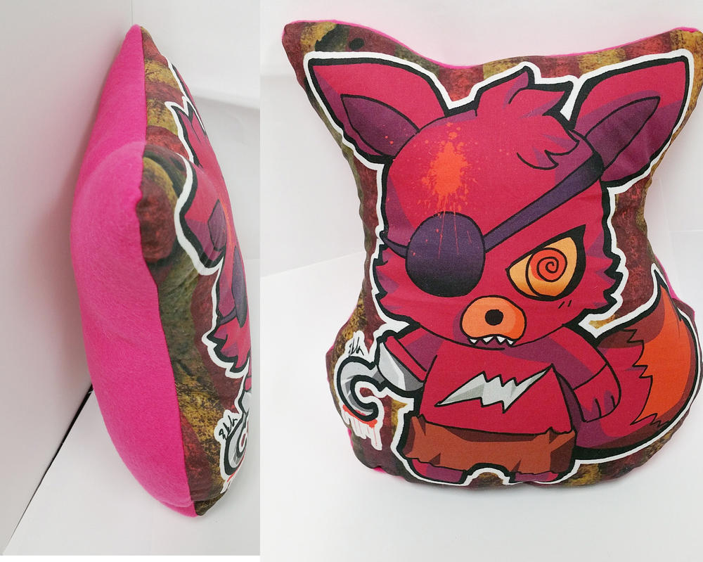 FOXY the pirate pillow! by tachiik
