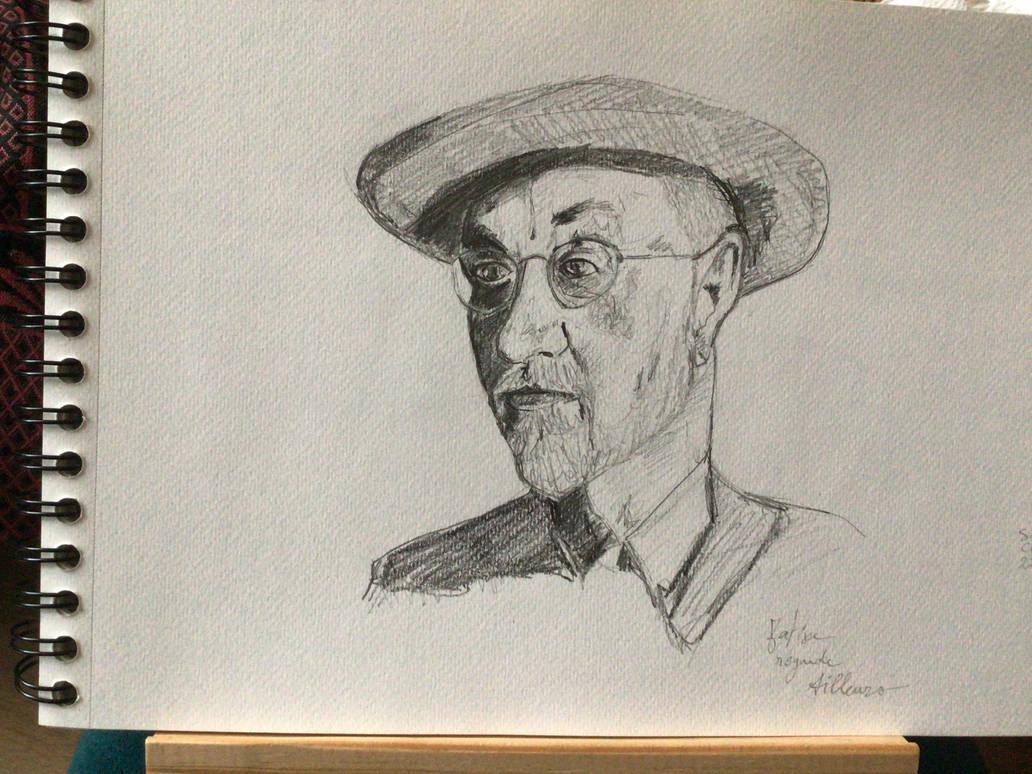 Matisse regarde ailleurs