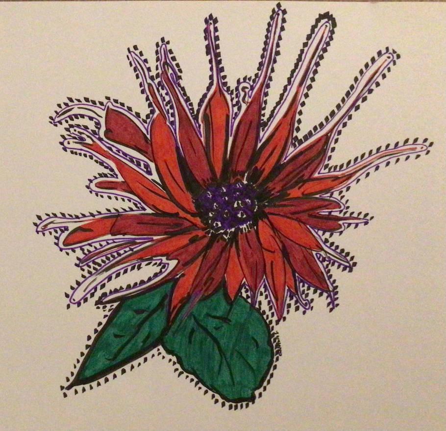Flower in my mind