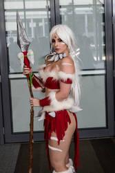 Nidalee cosplay by BlondieeGaming
