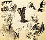 Vampires pg 3 (ink) by SquidHatJenkins