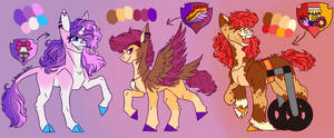 The Cutie Mark Crusaders Reference Sheet
