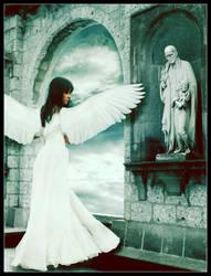Waiting Angel by SweetGirl7808