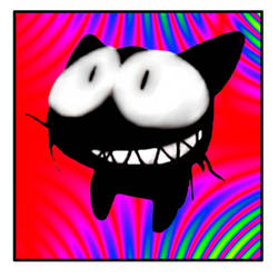 Smiley Cat by Potrayal13