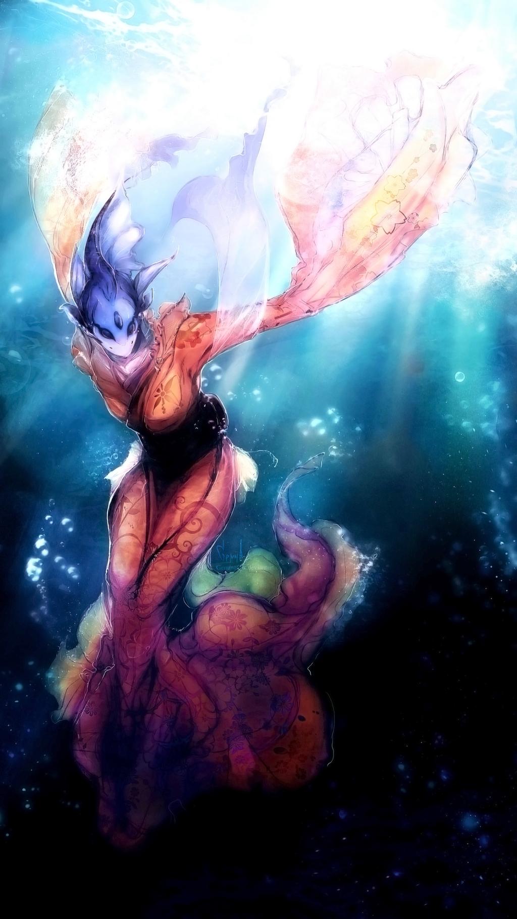 Hylotl Starbound Starbound Hylotl by