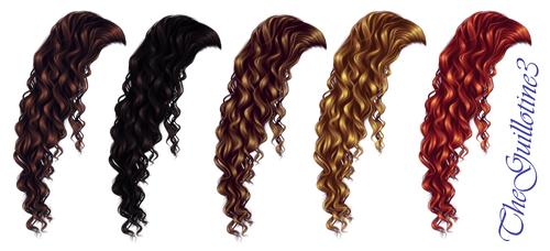 Curly Hair by TheGuillotine3