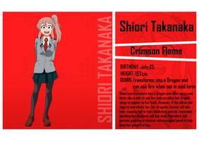 BNHA Oc: Shiori's Bio by FEGirl17