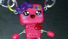 Pink Robot by SkitSkittle