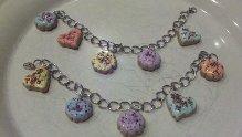 Sugar Cookie Charm Bracelet 2 by SkitSkittle