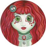 Zombie punk girl