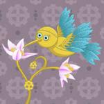 Steampunk birdie