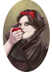 Anette Olzon as Snow white