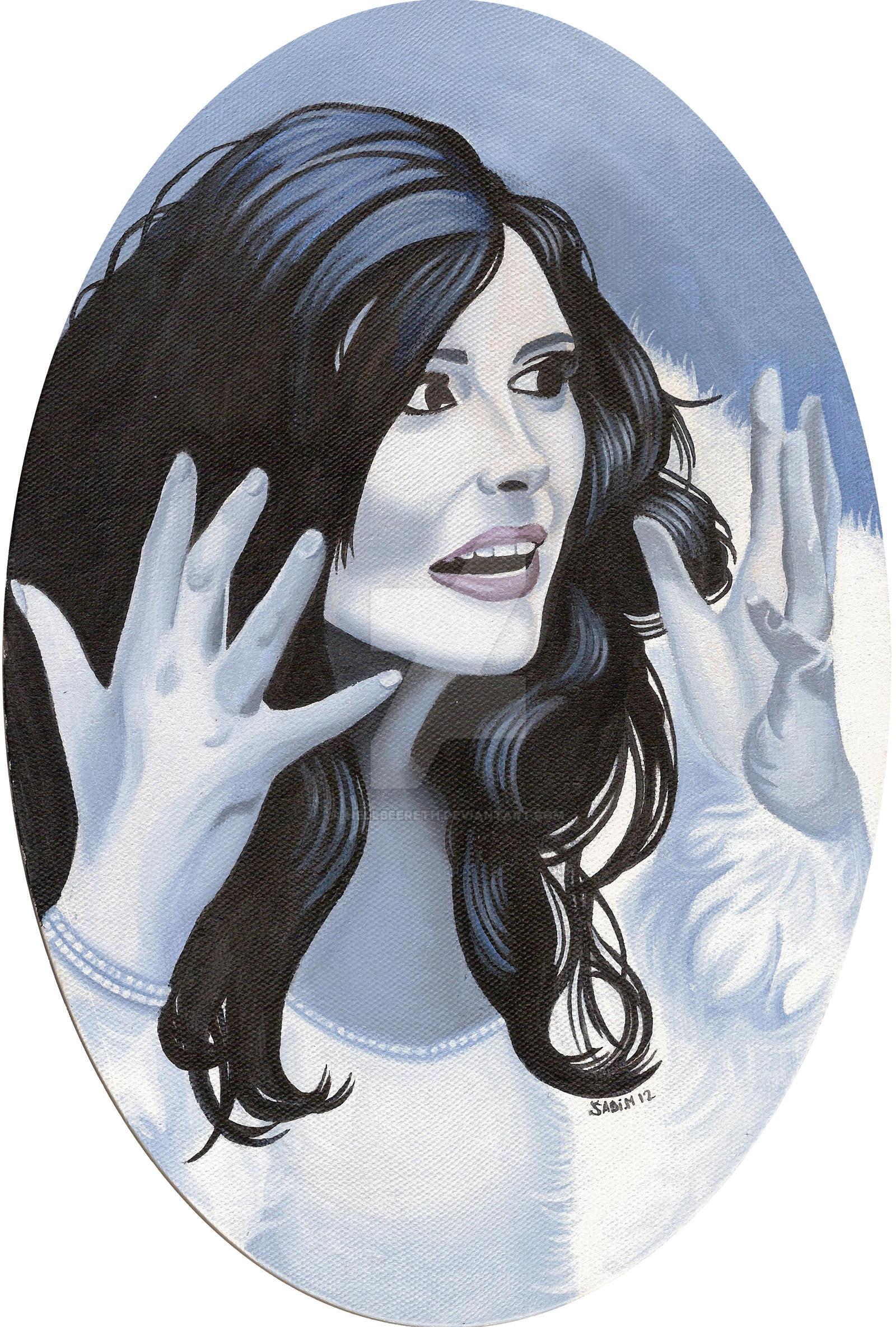 Sharon Den Adel Ice Queen by HellbeeretH