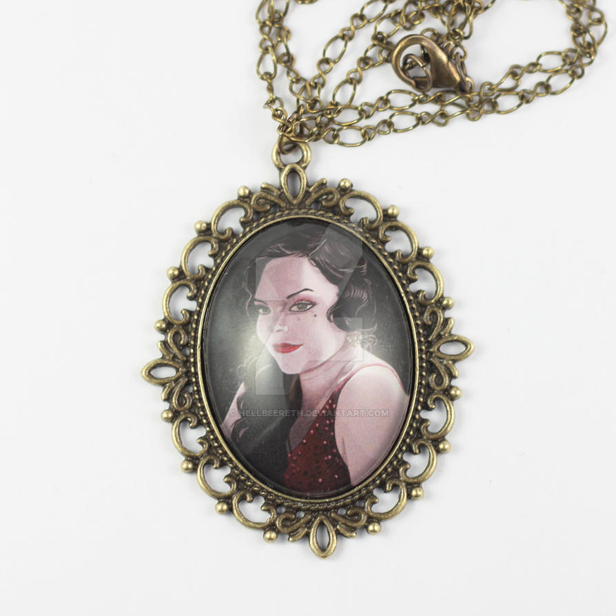 Anette Olzon necklace by HellbeeretH