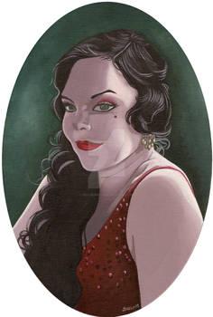 Anette Olzon retro style