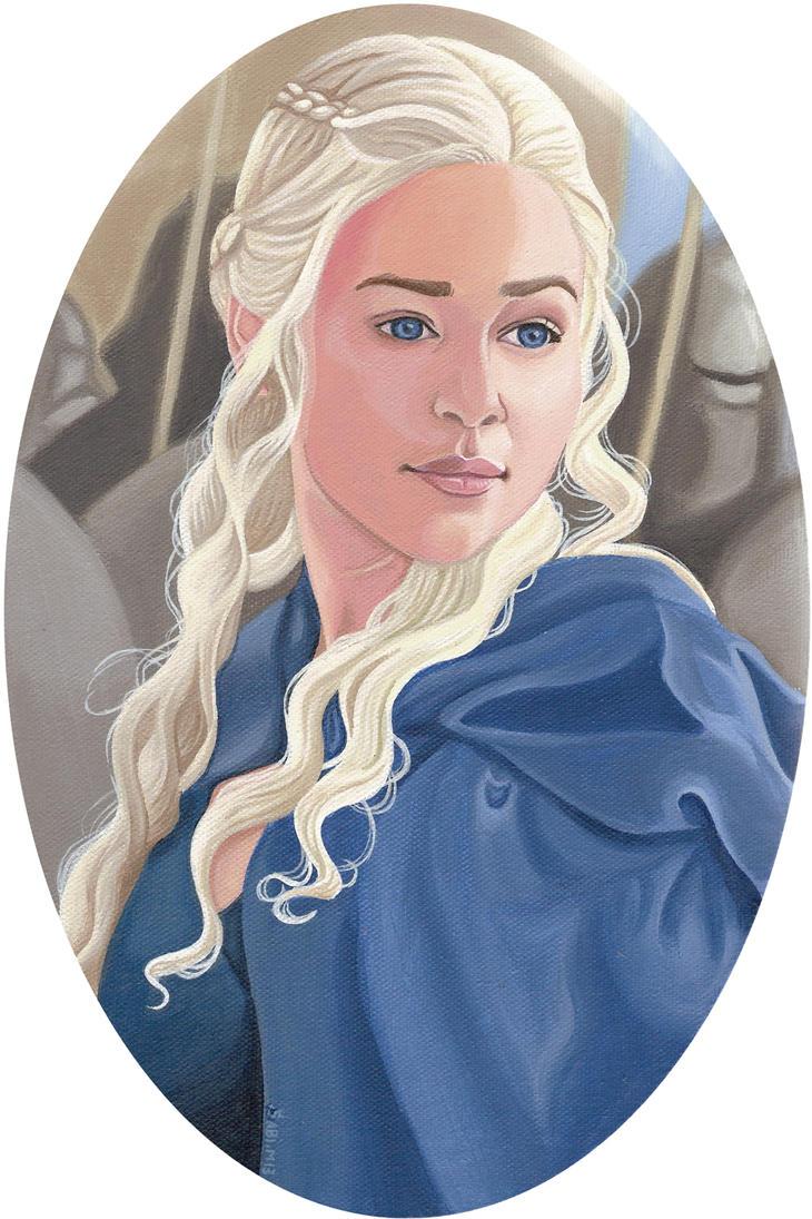 Daenerys by HellbeeretH