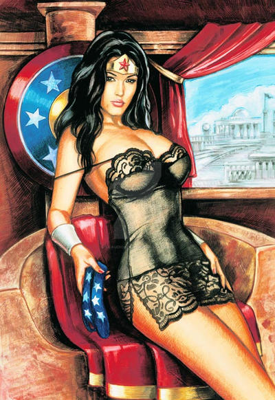 Wonder Woman, the sexualized superhero Books The Guardian