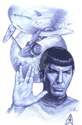 SPOK STAR TREK CLAUDIO ABOY