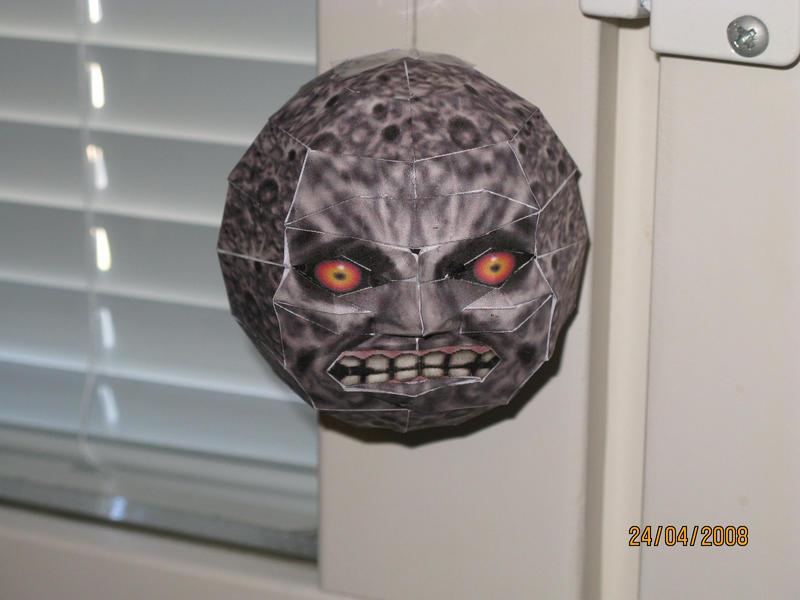Majoras mask moon by killero94