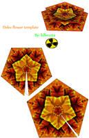 deku flower template by killero94