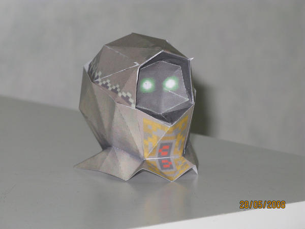 Garo's mask papercraft by killero94