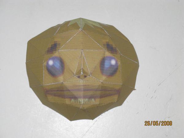 Goron mask papercraft by killero94