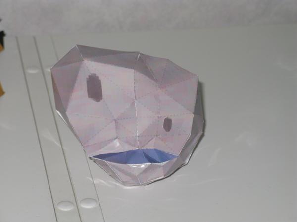Stone mask papercraft by killero94