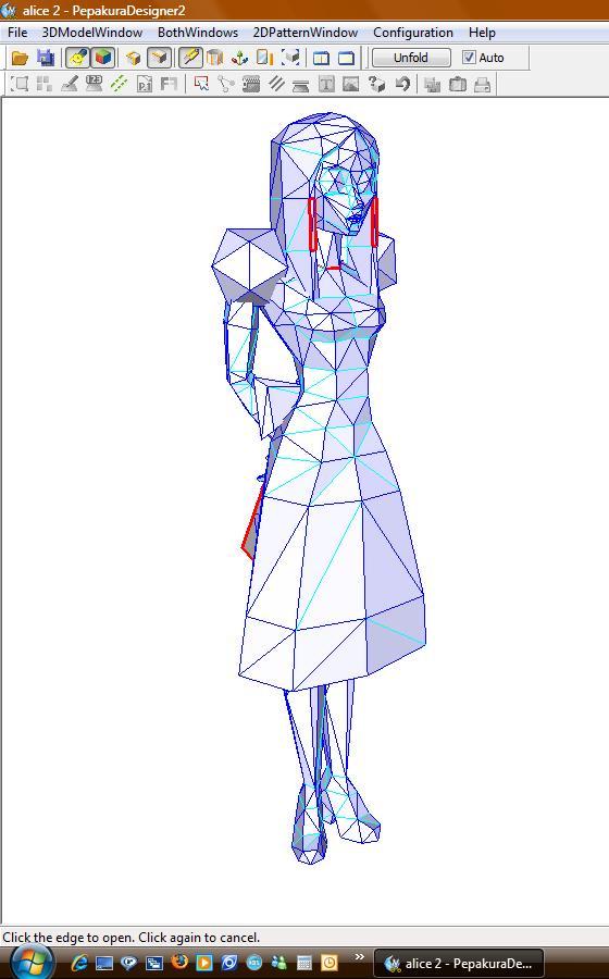 Alice WIP un textured by killero94