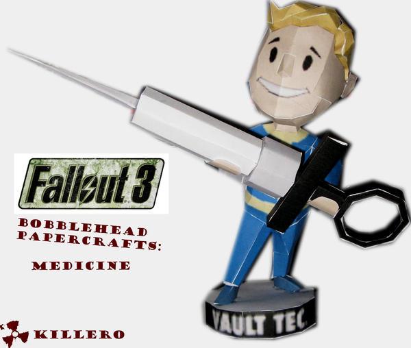 Fallout 3 Medicine Bobblehead by killero94