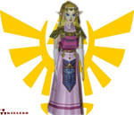 Adult Zelda Papercraft