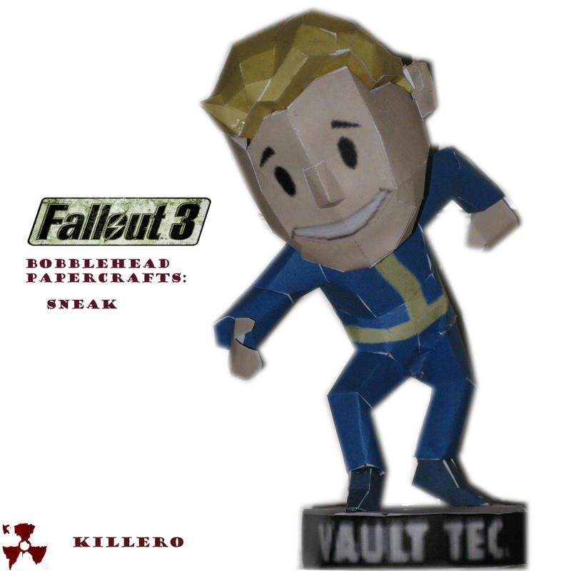 Fallout 3 Sneak Bobblehead by killero94