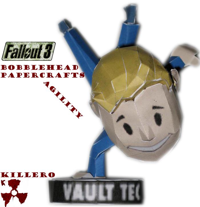 Fallout 3 Agility Bobblehead by killero94