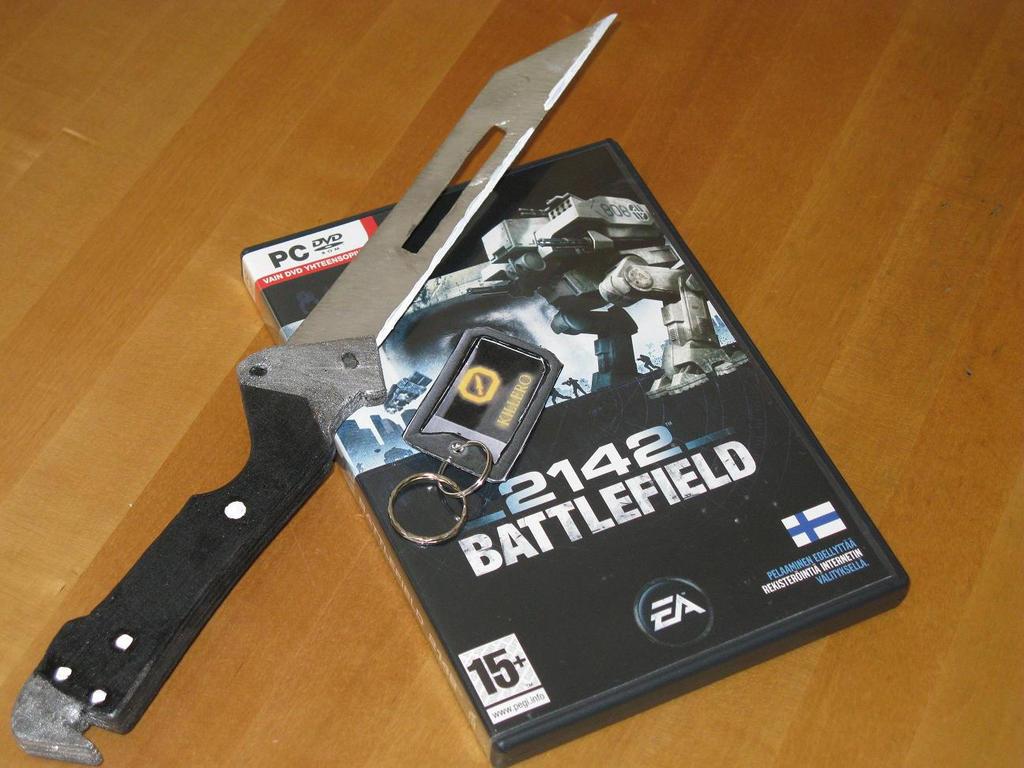 Battlefield 2142 Combat Knife by killero94