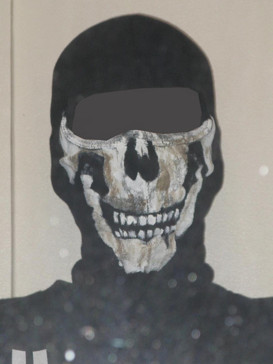 Paintball Mask Ghost