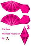 The Sims Pink Plumbob