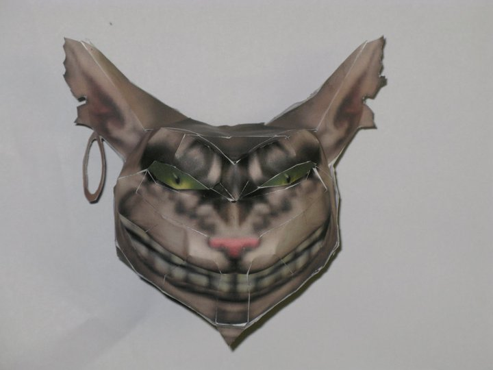 Cheshire cat's head From Alice by killero94